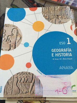 1 de la ESO Libros de geografía y Historia