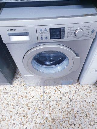 oferta lavadora bosch gris semi nueva 150€ garantí