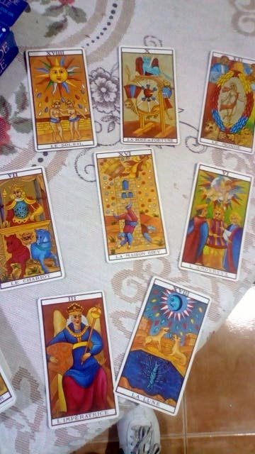 Tarot de Marsella 78 cartas a color