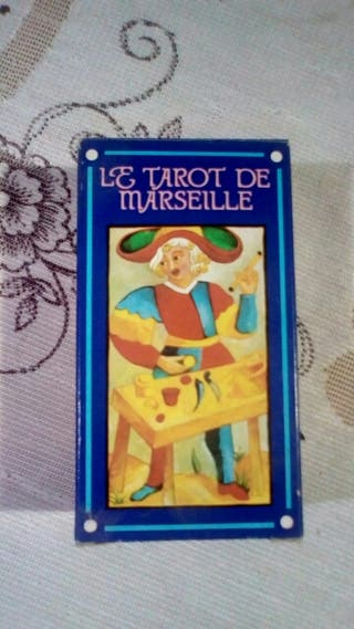 Tarot de Marsella 78 cartas a color