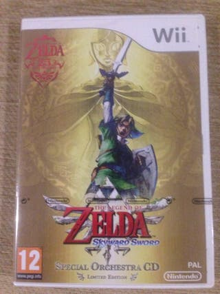 Zelda wii precintado