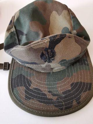 gorra militar nueva