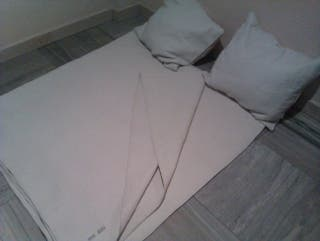 -Cubrecama,colcha,edredón,manta GRANDE,algodón