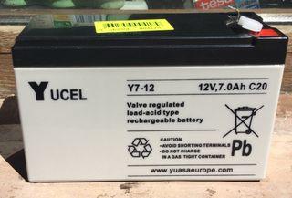 Bateria Yuasa / Yucel 12v NUEVA