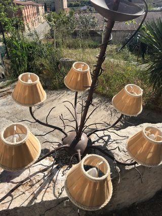 Lámpara rustica
