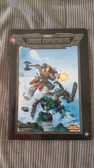 lobos espaciales codex warhammer 40k