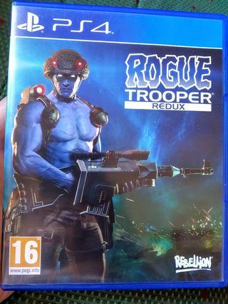 Juego Rogue Trooper Redux, Ps4