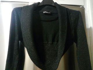 chaqueta bolero negra