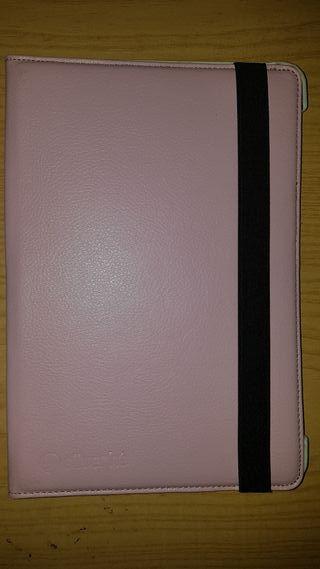 """funda con soporte rosa tablet 8,9"""""""