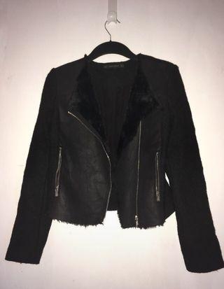 Veste noir Zara