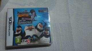 Juego Nintendo DS Los pingüinos de Madagascar