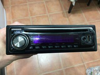Radio cd mp3 con entrada usb