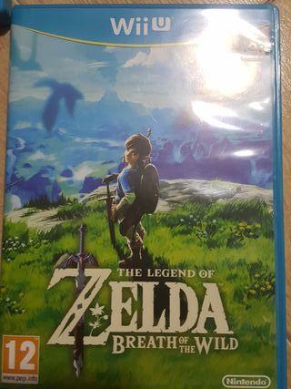 The legend of Zelda breath of the wild wii u .