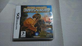 Juego Nintendo DS combate de dinosaurios