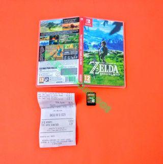 Zelda: Breath of the Wild + Ticket de Compra