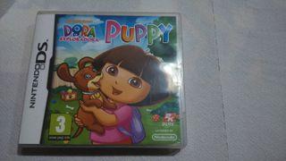 Juego Nintendo DS Dora la exploradora puppy