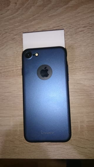 iPhone 7 128 gb+ 2 carcasas Ipaky