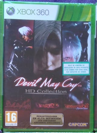DEVIL MAY CRY COLLECTION XBOX360 NUEVO