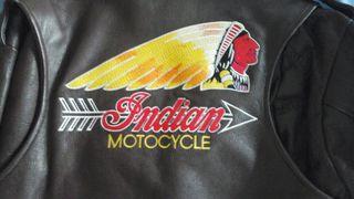 chaqueta de cuero INDIAN .