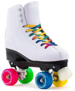 Patines Rio Roller Figure Quad Skate, talla 37.