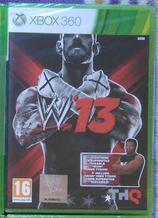 WWE 13 EDICIÓN MIKE TYSON XBOX 360 NUEVO
