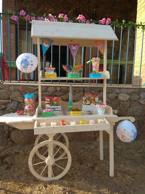 alquiler carro candy bar