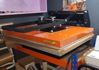 Prensa térmica estampacion textil 60x80cm.
