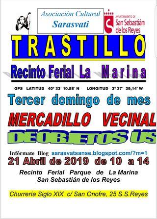 Mercadillo - Rastrillo Vecinal domingo 21