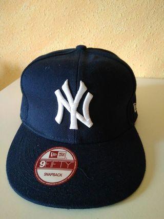 gorra de visera plana baseball new york yankees