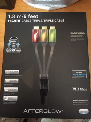 Cable Triple HDMI Afterglow
