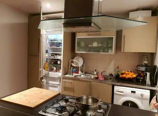 cocina con todos los electrodomesticos