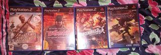 Lote de Juegos de PS2