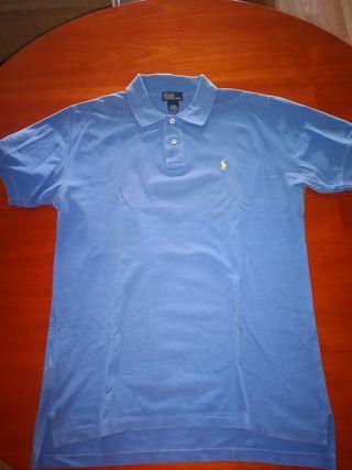 Polo azul Ralph Lauren Talla XL