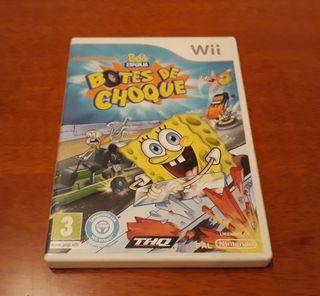 Juegos Wii (Bob Esponja)