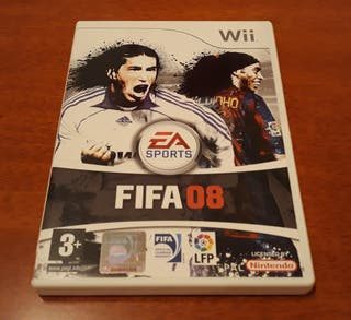 Juegos Wii (FIFA 08)