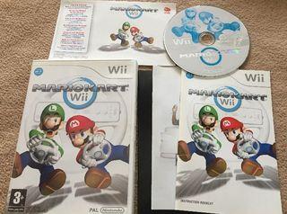 Juegos Wii (Mario Kart)