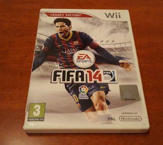 Juegos Wii (FIFA 14)