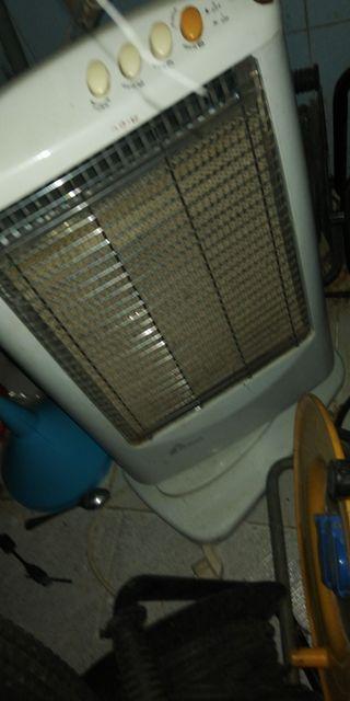 calefactores y pingüino