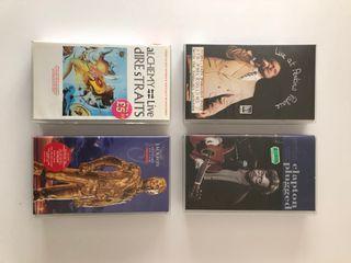 Cintas VHS, música