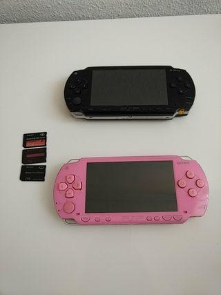 PSP 1004 Rosa y Negro