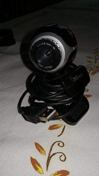 Webcam +Auriculares con micrófono