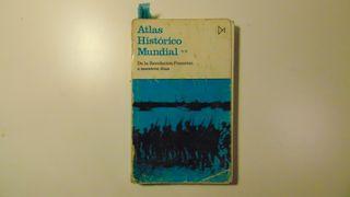 Libro : Atlas Histórico Mundial (un poco cascado)