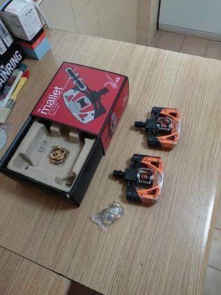 Pedales automáticos Crank Brothers Mallet 2