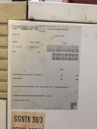 Caldera de gasoil FER/FERROLI
