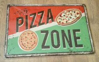 Cartel decorativo zona Pizza