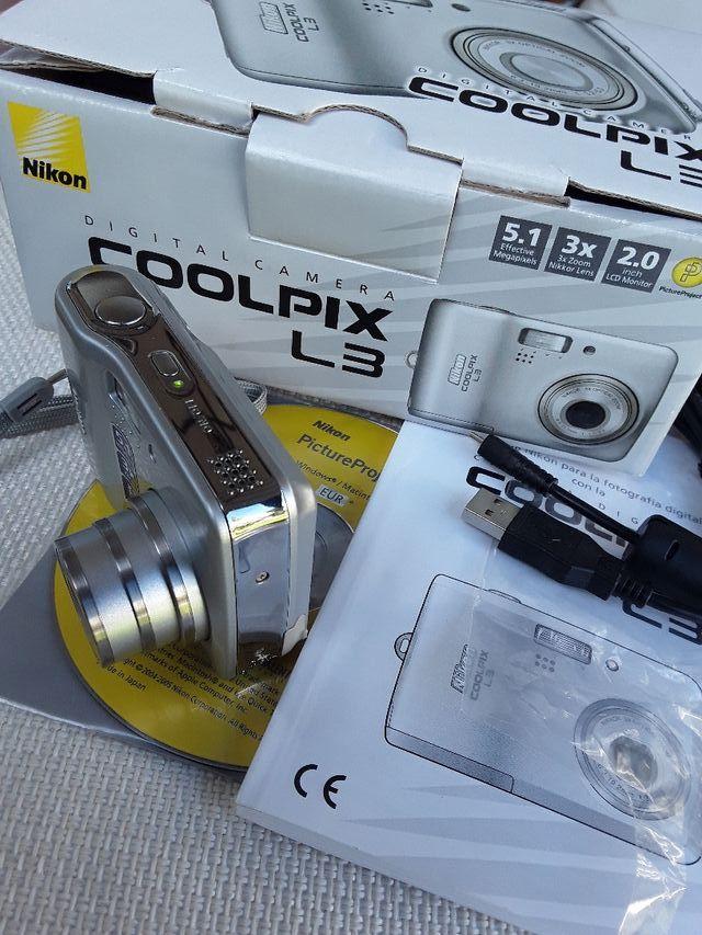 Cámara de fotos Nikon Nueva