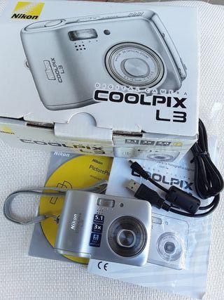 Cámara de fotos Nikon Coolpix L3