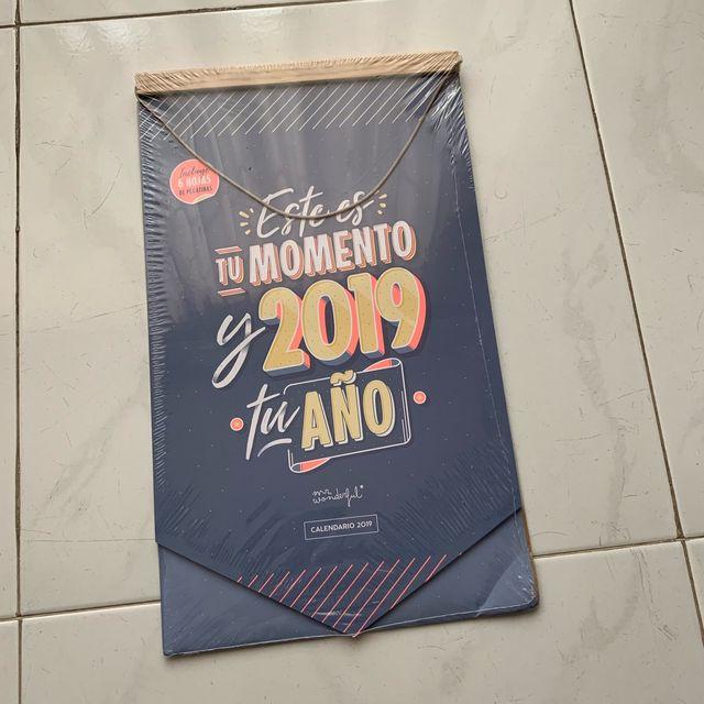 Calendario pared Mr.Wonderful