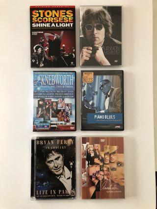 DVDs música