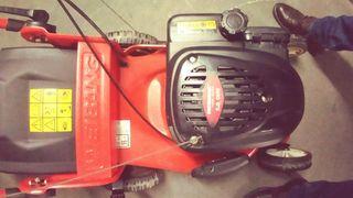 cortacesped tracción gasolina weirbang